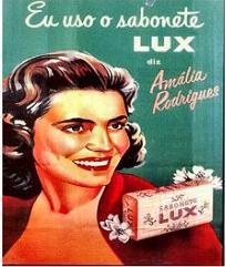 Amália : eu uso o sabonete Lux