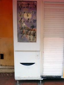 Photomaton à Toulouse, janvier 2010
