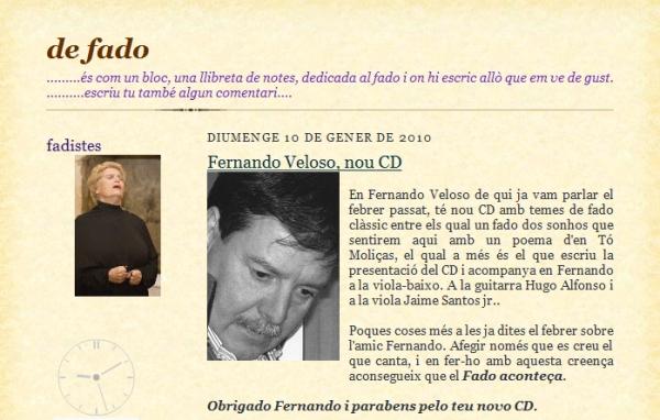 De Fado (blog)