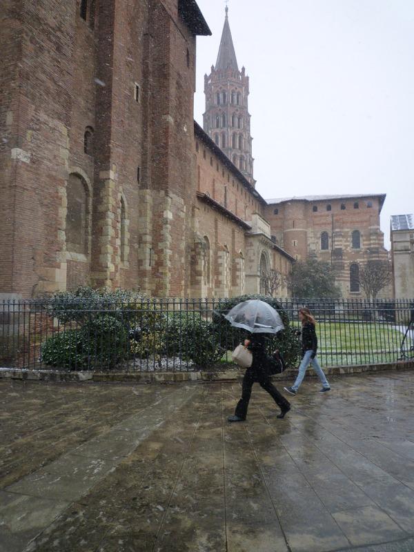 Toulouse, basilique Saint-Sernin, 8 mars 2010