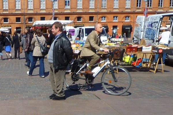 Toulouse, Place du Capitole, 26 mars 2010