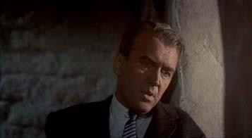 James Stewart dans « Vertigo » d'Alfred Hitchcock