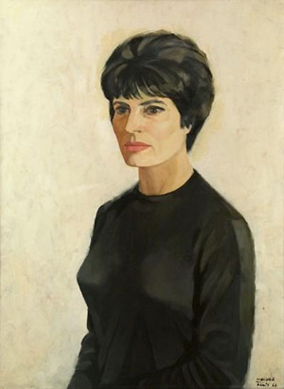 Portrait d'Amália (1966), par Maluda (1934-1999)