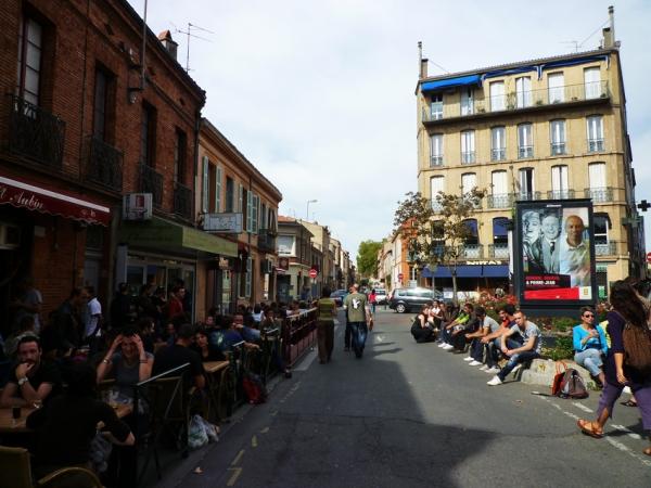 Toulouse, 3 octobre 2010, rue Riquet