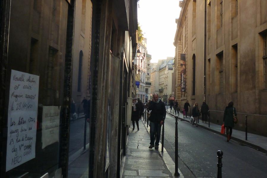 Paris, rue du Temple (3e arrondissement), 22 octobre 2010
