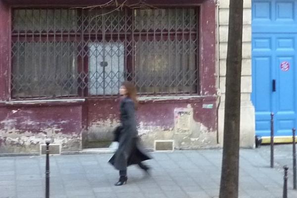 Paris, rue des Francs-Bourgeois (4e arrondissement), 22 octobre 2010