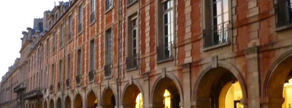 Paris, place des Vosges (3e arrondissement), 22 octobre 2010