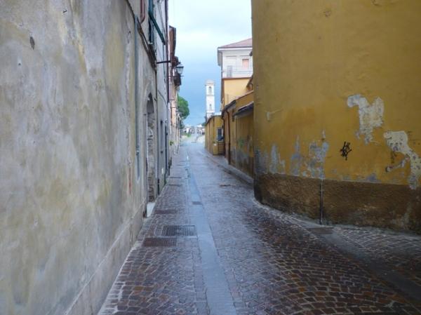 Sarzana (Ligurie, Italie), 7 novembre 2010
