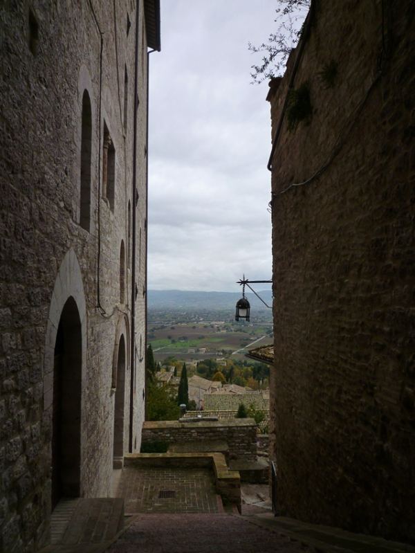 Assise (Ombrie, Italie), 8 novembre 2010