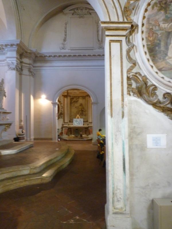 Sienne (Toscane, Italie). Bibliothèque universitaire, Faccoltà di scienze matematiche, fisiche e naturali (sala Rosa), 13 novembre 2010
