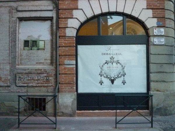 Toulouse, rue Pierre de Fermat, 11 décembre 2010