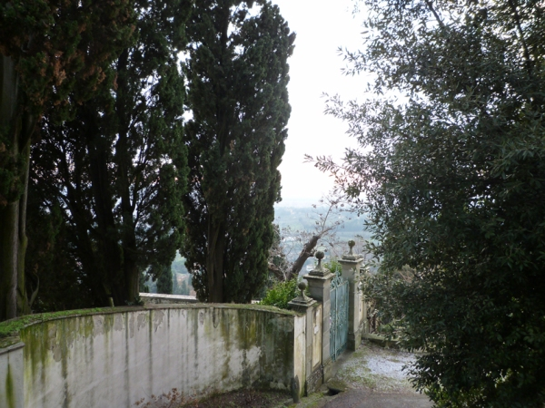 Fiesole (Toscane, Italie), 1er janvier 2011