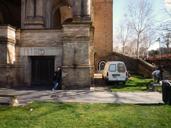 Toulouse, place Sain-Aubin, 20 février 2011