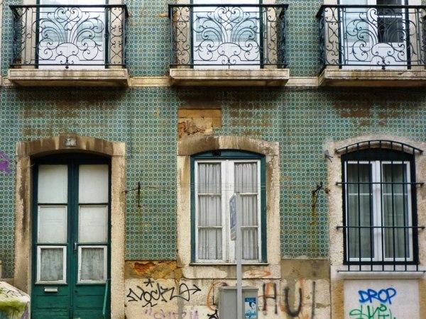 Lisbonne (Portugal), Rua do Ferragial, 17 mars 2011
