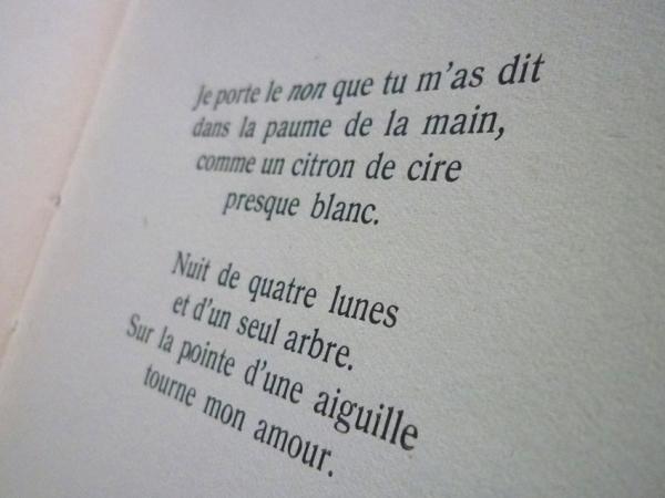 Federico García Lorca (1898 - 1936). Chansons de lune. Traduction de Félix Gattégno. Dans : Cahiers de la loggia = ISSN 1150-0042, I, novembre 1945.