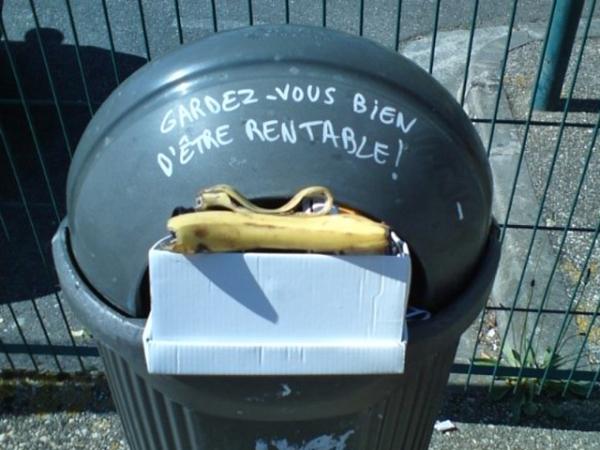 Gardez-vous bien d'être rentable ! Toulouse, 17 avril 2011
