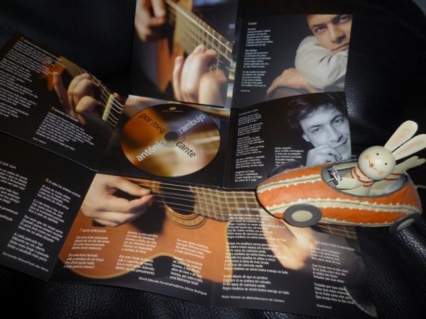 António Zambujo -- Por meu cante (2004). Édition originale