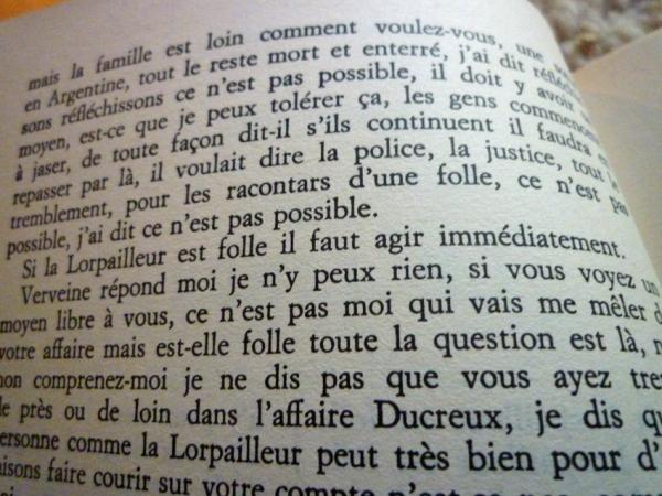Robert Pinget. Le Libera. Minuit, 1984.