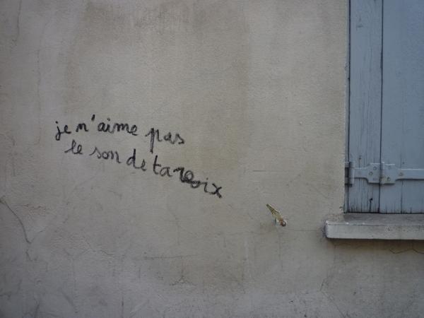 Montpellier, rue Guillaume Pellicier, juillet 2011
