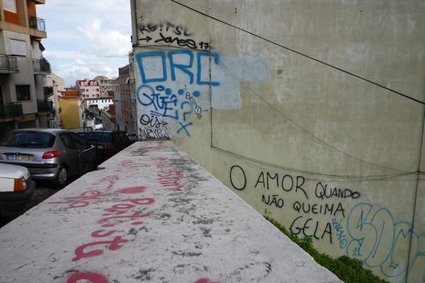 Lisbonne, calçada do Monte, 13 mars 2011