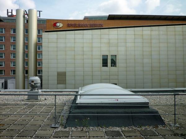 Berlin (Allemagne). Vue depuis le toit de la Staatsbibliothek zu Berlin, 20 septembre 2011