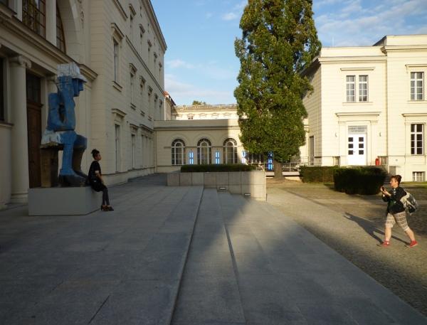 Berlin (Allemagne). Ancienne gare de Hambourg (musée d'art contemporain), 23 septembre 2011