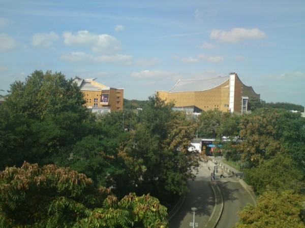 Berlin (Allemagne), la Philharmonie. 20 septembre 2011