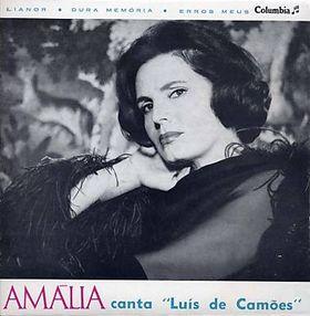 Amália canta Luís de Camões. Disque 45 t. V. de Carvalho, 1965.