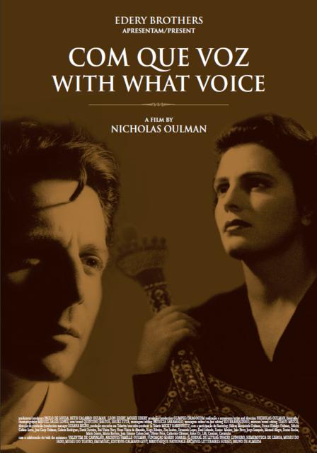 Com que voz, film de Nicholas Oulman (2009). Affiche