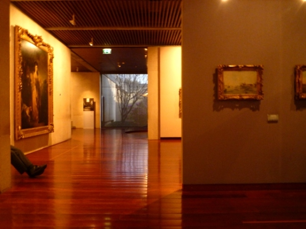 Lisbonne (Portugal), Musée Calouste Gulbenkian, 14 mars 2012