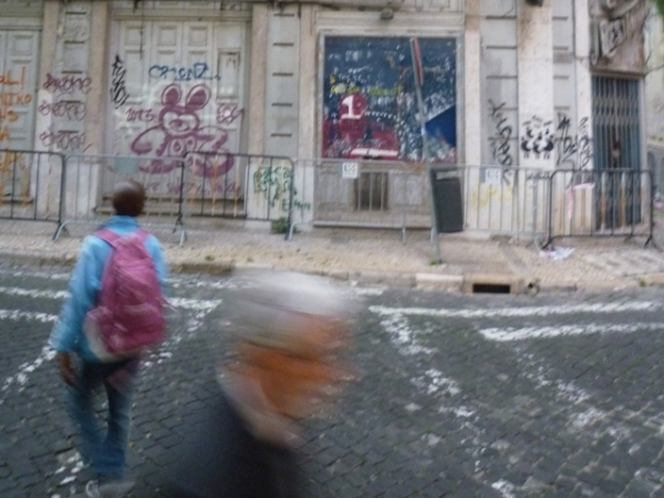 Lisbonne (Portugal), rua dos Condes, 14 mars 2012