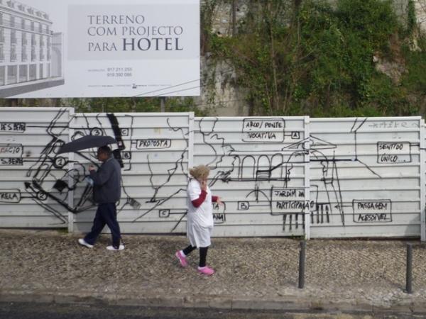 Lisbonne (Portugal), rua de São Bento, 14 mars 2012