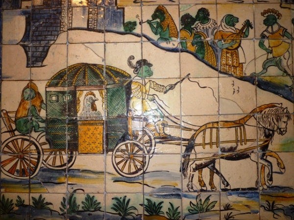 Lisbonne (Portugal), Museu nacional do azulejo, 16 mars 2012