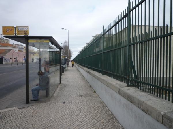 Lisbonne (Portugal), Avenida Infante Dom Henrique, 17 mars 2012