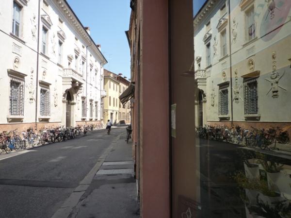 Ferrare (Émilie-Romagne, Italie), Via Voltapaletto, 9 juillet 2010