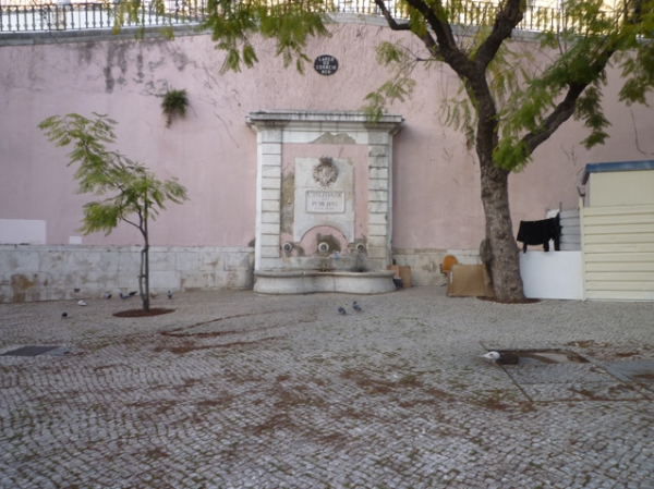 Largo do Correio Mor, Lisbonne (Portugal), 16 mars 2012