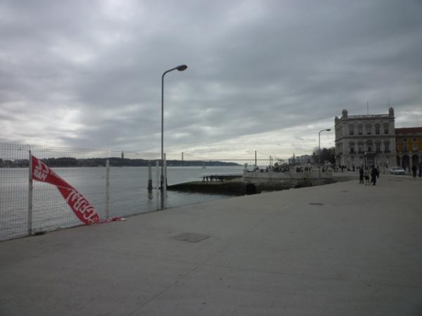 Lisbonne, Terreiro do Paço, 17 mars 2012