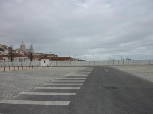 Lisbonne, Jardim do Tabaco, 17 mars 2012