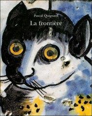 La Frontière : azulejos du palais Fronteira / Pascal Quignard. Chandeigne, 2003. (Grands formats)
