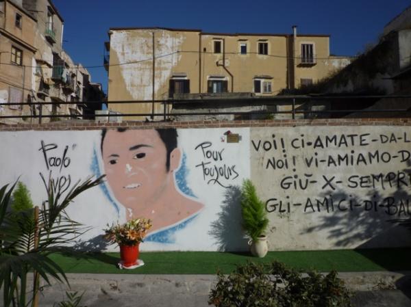 Palerme (Sicile). « Paolo vive pour toujours ». 8 mai 2012