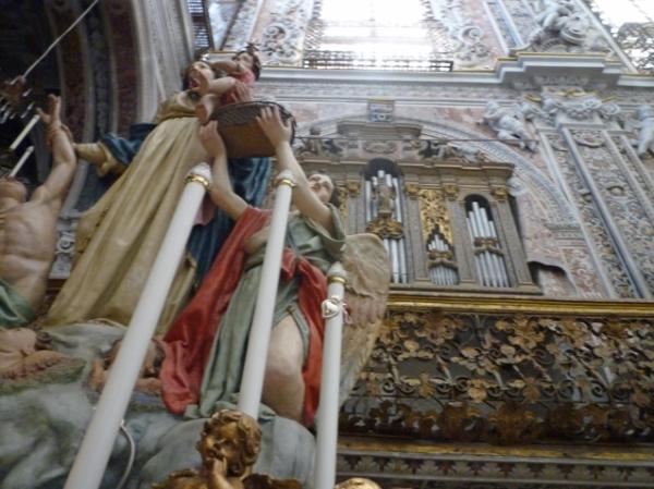 Palerme (Sicile). Église de l'Immacolata Concezione, 9 mai 2012