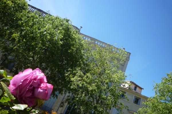 Montpellier, place de La Canourgue, 1er mai 2012