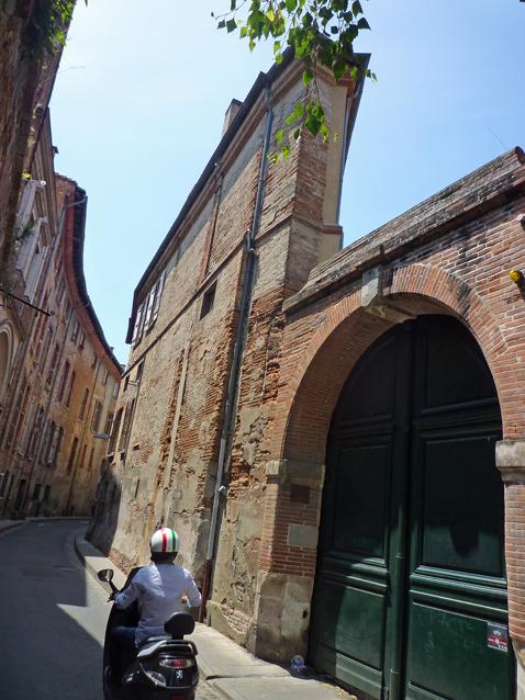 Toulouse, rue Merlane, 30 mai 2012