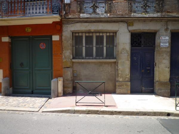 Toulouse, rue Perchepinte, 30 mai 2012
