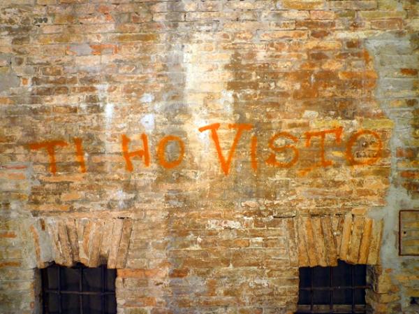 « Ti ho visto ». Urbino (Marches, Italie), 18 juillet 2012
