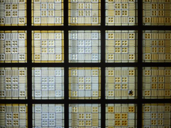 Gare de Metz (Moselle, France). Verrière. 20 août 2012