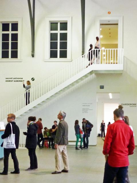 Berlin (Allemagne). Ancienne gare de Hambourg (musée d'art contemporain) / Hamburger Bahnhof (Museum für Gegenwart), 23 septembre 2011