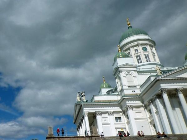 Cathédrale luthérienne, Helsinki (Finlande), 11 août 2012