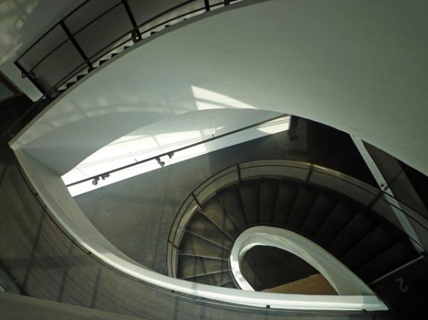 Kiasma (musée d'art contemporain), Helsinki (Finlande), 16 août 2012