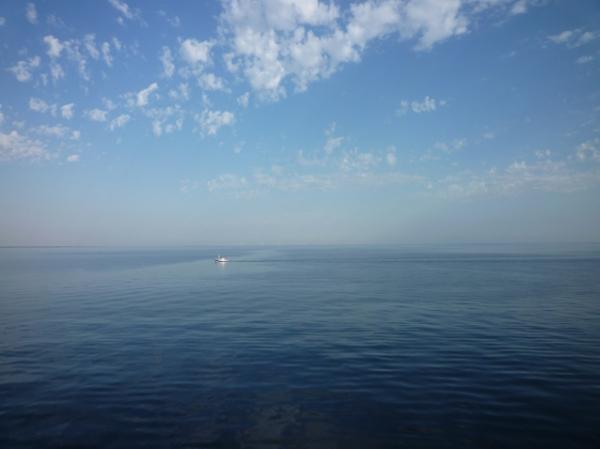 Mer Baltique, entre Danemark et Allemagne, 19 août 2012